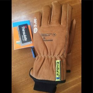Other - Goatskin leather winter work gloves MD